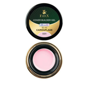 F.O.X Cover camouflage builder gel 001, 15 ml