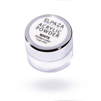 ELPAZA, Acrylic Powder White 15 гр.