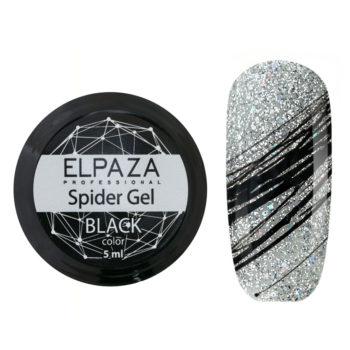 ELPAZA, Spider Gel 5 мл BLACK