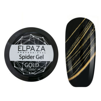 ELPAZA, Spider Gel 5 мл GOLD