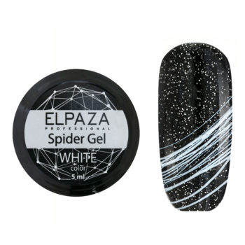 ELPAZA, Spider Gel 5 мл WHITE