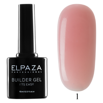 ELPAZA, Builder Gel it's easy № 01