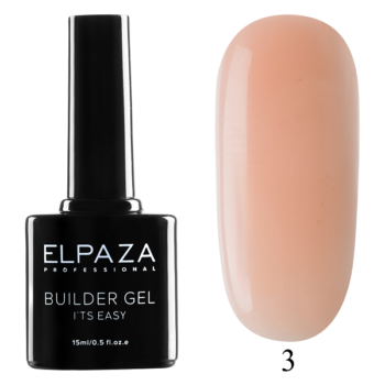 ELPAZA, Builder Gel it's easy № 03