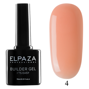 ELPAZA, Builder Gel it's easy № 04