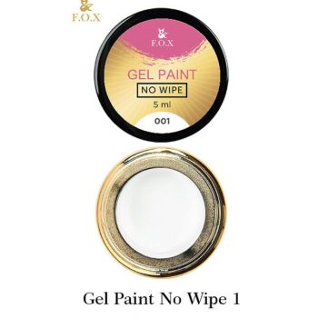 F.O.X Gel paint No Wipe 001, 5 ml