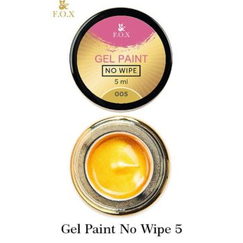 F.O.X Gel paint No Wipe 005, 5 ml